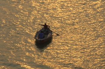 Sunrise in the Ganges