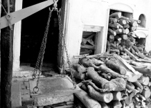 Wood for funeral pyres