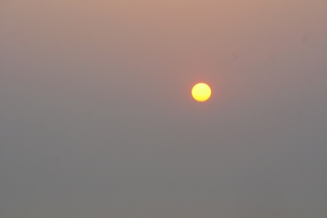 Sunset at Aguada Fort